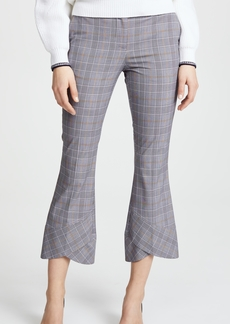 Robert Rodriguez Plaid Cropped Trousers