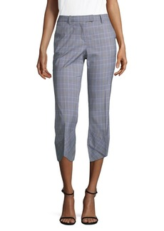 Robert Rodriguez Plaid Flare Trousers