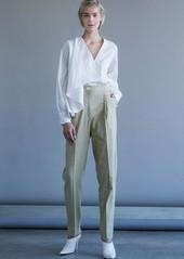 Robert Rodriguez Pleat Front Linen Blend Pants