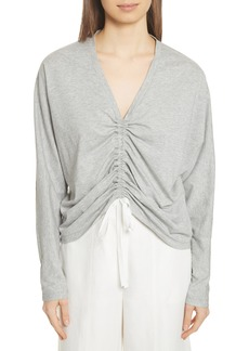 Robert Rodriguez Ruched Front Tee