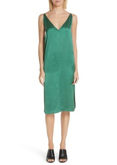 Robert Rodriguez Satin Slipdress