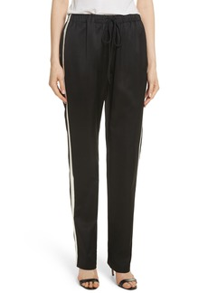 Robert Rodriguez Satin Track Pants