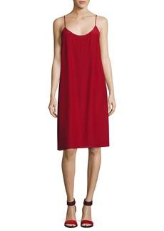 Robert Rodriguez Silk Crepe Slip Dress