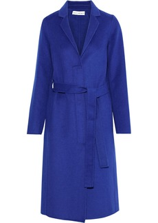 Robert Rodriguez Woman Belted Wool-blend Felt Coat Royal Blue