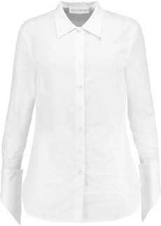 Robert Rodriguez Woman Cotton-poplin Shirt White