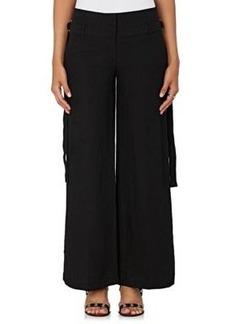 Robert Rodriguez Women's Belted Woven Pants