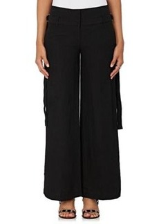 Robert Rodriguez Women's Belted Woven Pants