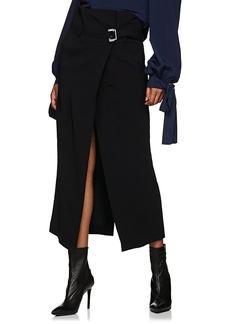 Robert Rodriguez Women's Cady Belted Wrap Skirt