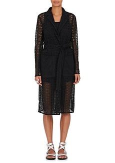 Robert Rodriguez Women's Corded Lace Wrap Coat