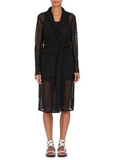 Robert Rodriguez Women's Corded Lace Wrap Coat