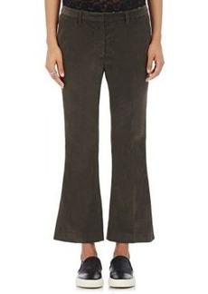 Robert Rodriguez Women's Corduroy Straight-Leg Trousers