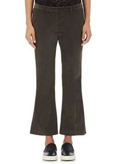 Robert Rodriguez Women's Corduroy Straight-Leg Trousers