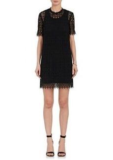 Robert Rodriguez Women's Cotton Lace Shift Dress