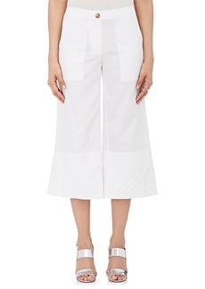 Robert Rodriguez Women's Cotton-Linen Crop Pants