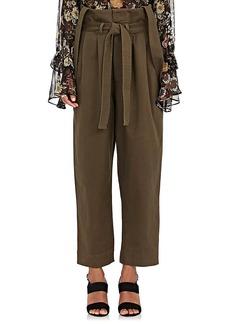Robert Rodriguez Women's Cotton Twill Crop Pants