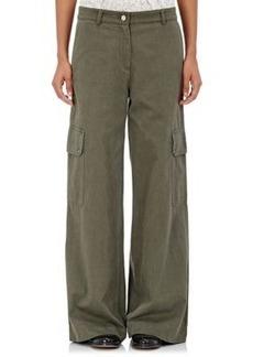 Robert Rodriguez Women's Cotton Wide-Leg Cargo Pants