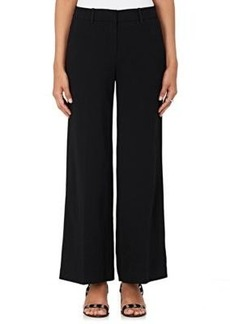 Robert Rodriguez Women's Crepe Wide-Leg Pants