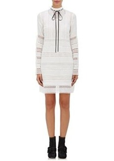Robert Rodriguez Women's Embroidered-Lace Dress