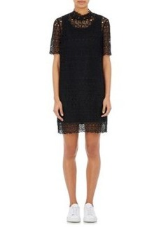 Robert Rodriguez Women's Embroidered-Lace Shift Dress