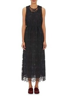 Robert Rodriguez Women's Embroidered Tulle Dress