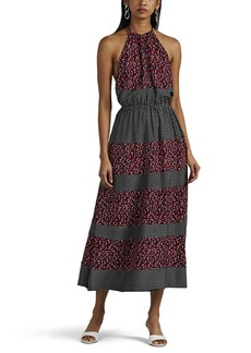 Robert Rodriguez Women's Floral Halter Dress