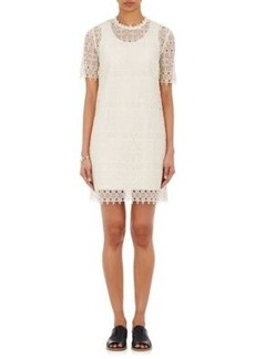 Robert Rodriguez Women's Floral Lace Shift Dress