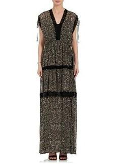 Robert Rodriguez Women's Floral Silk Maxi Dress