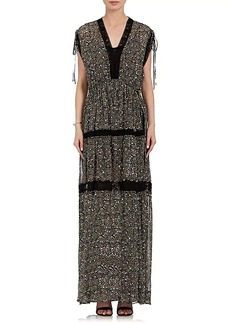 Robert Rodriguez Women's Floral Silk Maxi Dress