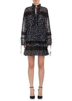 Robert Rodriguez Women's Floral Silk Tunic Dress