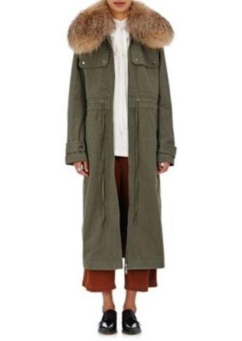 Robert Rodriguez Women's Fur-Collar Coat