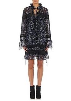 Robert Rodriguez Women's High-Neck Minidress