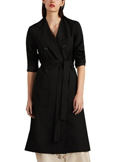 Robert Rodriguez Women's Hybrid Belted Double-Breasted Coat