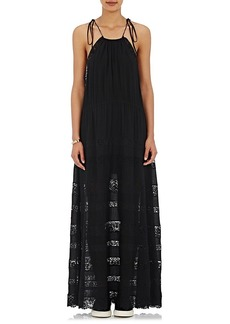 Robert Rodriguez Women's Lace-Inset Maxi Dress