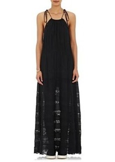 Robert Rodriguez Women's Lace-Inset Maxi Dress