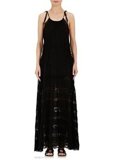 Robert Rodriguez Women's Lace Maxi Dress