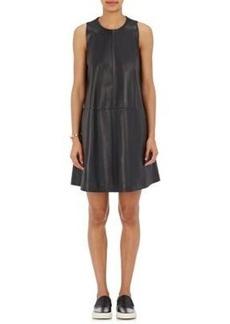 Robert Rodriguez Women's Leather Shift Dress