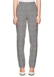 Robert Rodriguez Women's Plaid Stretch-Twill Pants