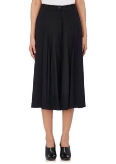 Robert Rodriguez Women's Pleated Wide-Leg Pants