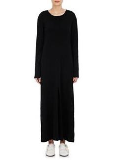Robert Rodriguez Women's Rib-Knit Fitted Maxi Dress