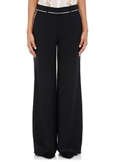 Robert Rodriguez Women's Silk Crêpe De Chine Pants
