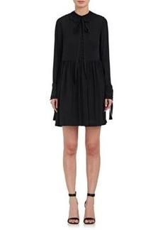 Robert Rodriguez Women's Silk Long-Sleeve Dress