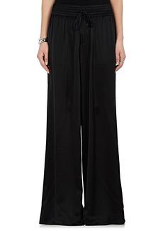 Robert Rodriguez Women's Silk Satin Wide-Leg Pants