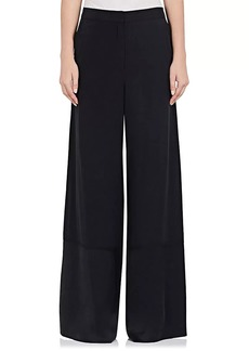 Robert Rodriguez Women's Silk Wide-Leg Trousers