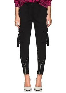 Robert Rodriguez Women's Stretch-Cotton Twill Cargo Pants