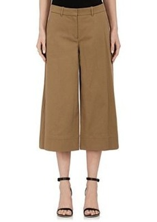 Robert Rodriguez Women's Stretch-Cotton Wide-Leg Gaucho Pants