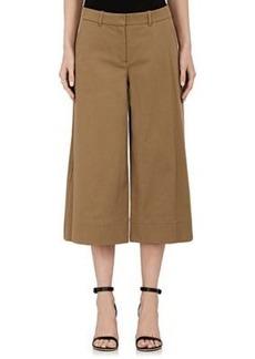 Robert Rodriguez Women's Stretch-Cotton Wide-Leg Gaucho Pants