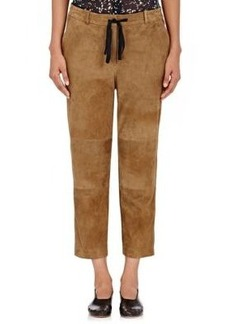 Robert Rodriguez Women's Suede Drawstring Pants