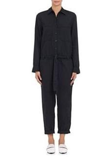 Robert Rodriguez Women's Work Lightweight Cotton-Linen Canvas Jumpsuit