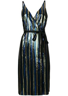 Robert Rodriguez sequin midi dress