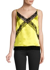 Robert rodriguez silk  lace cami abv3a198bff a
